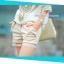 กางเกงคลุมท้องขาสั้น ลายลูกไม้ สีกากี : SIZE L รหัส PN058 thumbnail 1
