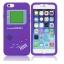** พร้อมส่งค่ะ ** เคส iPhone 6+/6s plus ลาย Gameboy สีม่วง thumbnail 2