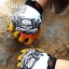 ถุงมือ MT08 - Yellow Skull - Free size thumbnail 4