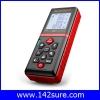 DMT037 : เครื่องมือวัดระยะ เลเซอร์วัดระยะดิจิตอล 60m Digital Laser distance meter Rangefinder Range finder Bubble level Tape measure Area/volume tool S2