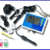 เครื่องมือวัด 6-in-1 Multi-Function pH °C ORP EC CF TDS PPM Monitor Water Meter Tester LED