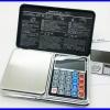 BAL089: เครื่องชั่งดิจิตอล 500g ความละเอียด 0.01 New Design! 6in1 (Mini Digital Scale, Calculator, Clock, Thermometer, LCD, Weighing)