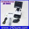 MCP024 กล้องไมโครสโคป พร้อมจอ LCD 3.5″ stand alone digital microscope 20X-500X 5M USB บันทึกภาพ วีดีโอ (มีซอฟต์แวร์วัดขนาดได้) ยี่ห้อ OEM รุ่น 5M500X