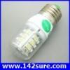 SMD102 หลอดไฟ LED E27- SMD3528 3W 220V 248-386Lm (แสงสีขาวอมเหลือง อายุการใช้งาน 40,000 ชั่วโมง)