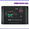 SCC015: โซล่าชาร์จเจอร์ Solar Panel Charger Controller Regulator 20A 12V/24V