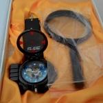 นาฬิกา+แว่นขยาย ลายที่ 1