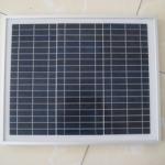 แผงโซล่าเซลล์ พลังงานแสงอาทิตย์ Poly-Crystalline Silicon Solar Cell Module 10W