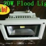 LFL011 LED Flood Light 20W แสงสีขาว 1600LM ไฟส่องอาคาร ส่องป้ายโฆษณา (Chip from Taiwan) ยี่ห้อ OEM รุ่น 20W
