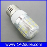 SMD092 หลอดไฟ LED E27- SMD5050 4W 220V 400Lm (แสงสีขาว อายุการใช้งาน 40,000 ชั่วโมง)