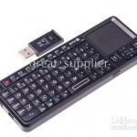 Rii คีย์บอร์ดจิ๋ว+เม้าส์ +เลเซอร์ ไร้สาย Hi Gadget! Rii mini wireless keyboard+Laser