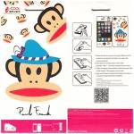 ฟิล์มกันรอย iPhone 5/5s ลายการ์ตูน หน้า+หลัง Paul Frank