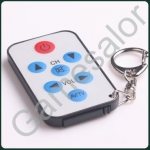 มินิพวงกุญแจ รีโมตทีวี ใช้ได้ทุกยี่ห้อ Universal Remote TV Keychain