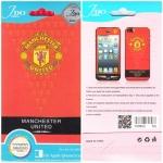 ฟิล์มกันรอย iPhone 5/5s ลายการ์ตูน หน้า+หลัง Manchester United