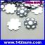 SIK001-S: Heat Sink Aluminum ระบายความร้อน หลอดไฟ LED DIY High Power 1W 3W 5W (จำนวน50ชิ้น) thumbnail 2