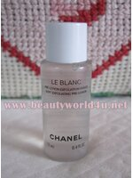 Chanel Le blanc soft exfoliating pre lotion 12 ml. (ขนาดทดลอง)