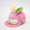 หมวกเด็ก หมวกเด็กอ่อน หมวกหน้าสัตว์ หมวกหน้ากระต่าย สีชมพู ข้างหลังเป็นยางยืด ผ้านุ่ม สวมใส่สบาย (ส่งฟรี)