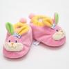 รองเท้าเด็ก รองเท้าเด็กอ่อน รองเท้าหน้าสัตว์ รองเท้าหน้ากระต่าย สีชมพู ผ้านุ่ม สวมใส่สบาย (ส่งฟรี)