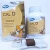 Mega We Care Cal D Choco Chewz แคลเซียมชนิดเคี้ยว รสช็อคโคแลต สำหรับเด็ก กล่อง 20 ชิ้น แคลเซียมและวิตามินดีสูง มีส่วนช่วยในกระบวนการสร้างกระดูกและฟันที่แข็งแรง