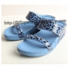 รองเท้า FITFLOP WALKSTAR SLIDE BLUE LEOPARD