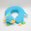 หมอนเด็ก Neck pillow หมอนรองคอ หมอนหน้าสัตว์ หมอนหน้าช้าง สีฟ้า (ส่งฟรี)