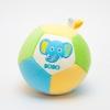 ของเล่นเสริมพัฒนาการ ลูกบอล 3 in 1 ลายปักหน้าสัตว์ 3 หน้า (ช้าง,วัว,เสือ) เขย่าแล้วมีเสียงกุ๊งกิ๊ง ใช้เป็น ของเล่นเด็ก ของเล่นเสริมทักษะ (ส่งฟรี)