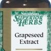 Swanson Grape Seed Extract 200 mg 60 แคปซูล (USA) บำรุงผิวพรรณ เพื่อผิวขาวกระจ่างใส และช่วยลดฝ้ากระ รอยด่างดำ ด้วยสาร OPC ในเมล็ดองุ่นที่สูงถึง 90%