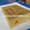 กล่องไปรษณีย์ กล่องพัสดุ เบอร์ ก หรือ A (กว้าง 14 ยาว 20 สูง 6 เซน)