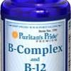(USA) (เพิ่มน้ำหนัก) Puritan Super Vitamin B-Complex 60 Softgels กระตุ้นและเพิ่มความอยากอาหาร ช่วยเพิ่มน้ำหนักได้ (Softgel ดูดซึมและประสิทธิภาพ 100%)