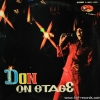 ดอน สอนระเบียบ ชุด Don on stage ปก VG++ แผ่น NM