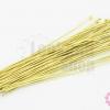 ตะปูหัวหมุด สีทองเหลือง 2X70มิล (41ชิ้น)