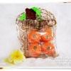 สบู่ส้ม มาดามเฮง (ลูกใหญ่แพ็ค4ลูก)Orange Natural Soap Vitamin C Original Formula มาดามเฮง
