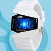 นาฬิกาข้อมือ SKMEI รุ่น AIRCRAFT สีขาว
