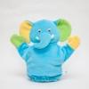 ของเล่นเสริมพัฒนาการ Hand puppet หุ่นตุ๊กตาสวมมือ หน้าช้าง สีฟ้า สำหรับให้คุณพ่อ คุณแม่ สวมมือ เล่นกับลูก (ส่งฟรี)