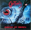Obituary - Cause of Death 1 LP New