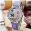 A013 Butterfly Clay Watch