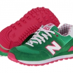  New Balance 574 Yacht Club/ GREEN PINK