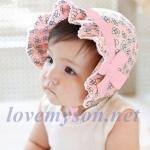 หมวกเด็กหญิง สีชมพู MC121