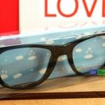 แว่นตาแฟชั่นสไตล์เกาหลี : สีดำ PA0147