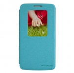 Quick Window Case LG G2 รุ่น NILLKIN Sparkle Series Leather Case สีฟ้า