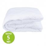 ผ้ารองกันเปื้อน ใช้สำหรับปูบนที่นอน ช่วยเพิ่มความหนานุ่มให้กับที่นอน ช่วยให้หลับสบาย 5 ฟุต
