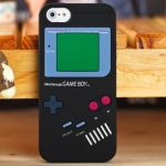 ** พร้อมส่งค่ะ ** เคส iPhone 5/5S ลายGameboy สีดำ