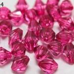 คริสตัลพลาสติก สีบานเย็น 10มิล (100กรัม)(274เม็ด)