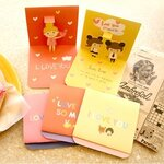 Pop-Up Love Card Set_x5