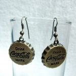 Vintage Coke Earrings