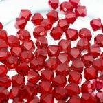 คริสตัลสวารอฟสกี้ (SWAROVSKI) สีแดง(227) 4มิล(100เม็ด)