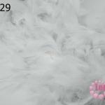 ขนนกเฟอร์ สีขาว (1เส้น)
