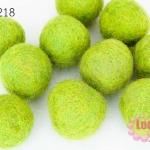 ลูกบอล Feit 25มิล #1 สีเขียวอ่อน (5ลูก)