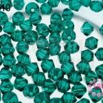 คริสตัลสวารอฟสกี้ (SWAROVSKI) สีเขียวใส(205) 4มิล(100เม็ด)