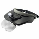 แว่นขยายติดหมวก ทำงานสบายตา ไม่ต้องเพ่งอีกต่อไป ใช้สำหรับ งานที่ต้องการกำลังขยายขณะที่มือไม่ว่าง สำหรับงานหัตถกรรม งานช่าง งานอดิเรก งานซ่อมสร้าง ขนาดจิ๋ว - light head magnifying glass
