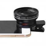 LIEQI LQ-027 2 in 1 เลนส์ครอบกล้องมือถือ ถ่ายรูปสวยแบบมือโปร